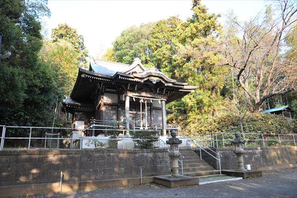 西八朔町 杉山神社(すぎやまじんじゃ)