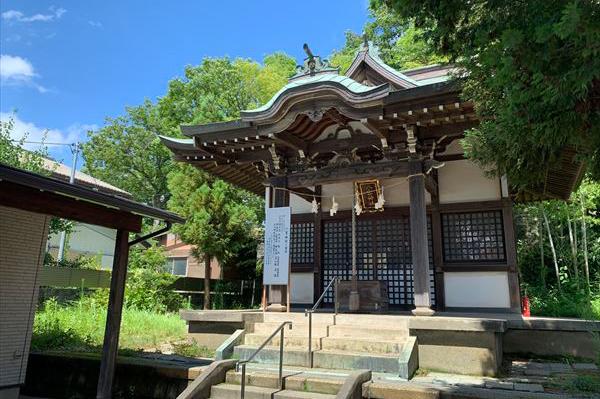 市ヶ尾町 八雲神社(やぐもじんじゃ)