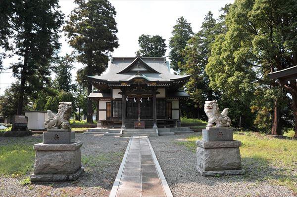 鴨志田町 甲神社(かぶとじんじゃ)
