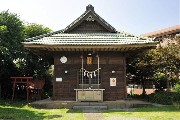市ヶ尾町 杉山神社(すぎやまじんじゃ)