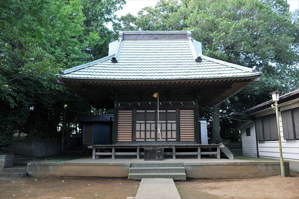 青砥町 杉山神社(すぎやまじんじゃ)