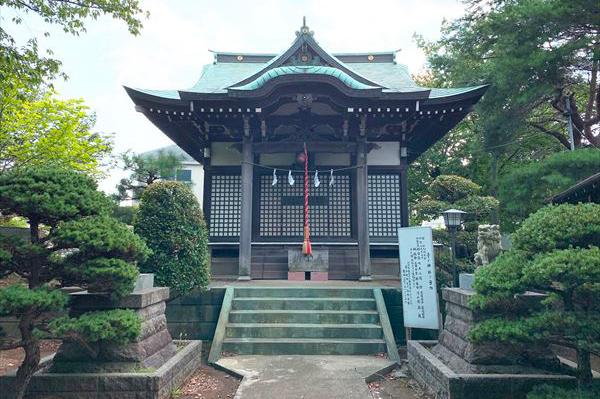 たちばな台 子ノ神社(ねのじんじゃ)