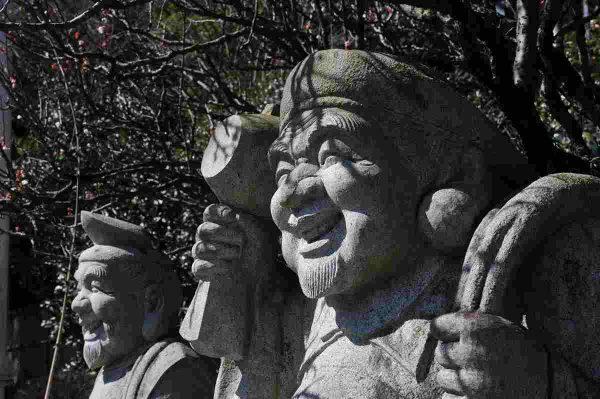 大黒様・恵比寿様-大国主命(右)事代主命(左)